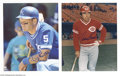 Autographs:Photos, Hall of Famers Signed Photograph Lot of 12....