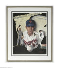 Autographs:Others, Nolan Ryan Signed Lithograph....