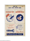Autographs:Others, 1959 Chicago White Sox Team Signed Spring Training Program....