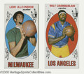 Basketball Cards:Lots, 1969-70 Topps Basketball Lot of 2....