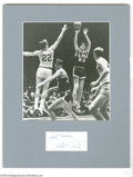 """Basketball Collectibles:Others, """"Pistol Pete"""" Maravich Signed Index Card...."""