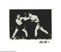 Boxing Collectibles:Autographs, Rocky Graziano Signed Photograph....