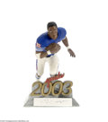 Football Collectibles:Others, Salvino O.J. Simpson N.F.L. Away Statue....