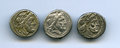 Ancients:Ancient Lots , Ancients: ANCIENT LOTS. Roman Republic. 2nd century BC. Lot ofthree (3) AR victoriati. About VF.... (Total: 3 coins)