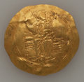 Ancients:Byzantine, Ancients: John II Comnenus (AD 1118-1143). AV hyperpyron (30mm,4.35 gm, 6h). VF, wavy flan....