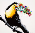 Fine Art - Work on Paper:Print, Martin Whatson (Norwegian, b. 1984). Toucan, 2014.Screenprint in colors on Somerset paper. 23-1/2 x 23-1/2 inches(59.7...