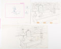 Animation Art:Production Drawing, Wonderful World of Color Layout Drawings and Print Group of6 (Walt Disney, c. 1960s).... (Total: 6 Items)