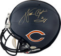 """Football Collectibles:Helmets, 1990's Walter Payton Signed Full Size Chicago Bears Helmet with """"Sweetness"""" Inscription. ..."""
