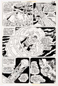 Original Comic Art:Panel Pages, Curt Swan and Frank Chiaramonte Superman #358 Story Page 7Original Art (DC, 1981)....