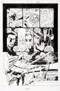 Original Comic Art:Panel Pages, Paul Gulacy and Jimmy Palmiotti Sci-Spy #1 Story Page 6Original Art (DC, 2002)....