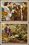 """Movie Posters:Fantasy, Stairway to Heaven (Universal International, 1946) Very Fine-. Lobby Cards (2) (11"""" X 14""""). Fantasy.... (Total: 2 Items)"""