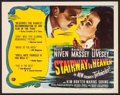 """Movie Posters:Fantasy, Stairway to Heaven (Universal International, 1946) Very Fine. Title Lobby Card (11"""" X 14""""). Fantasy...."""