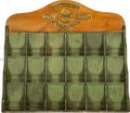 Baseball Collectibles:Others, Circa 1920 Spalding Guide Retail Display Rack....