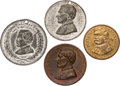 Political:Tokens & Medals, George B. McClellan: Four Campaign Tokens....