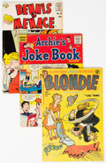 Golden Age (1938-1955):Humor, Golden and Silver Age Humor Comics Group of 17 (Harvey/Archie, 1946-67) Condition: Average VG.... (Total: 17 Comic Books)