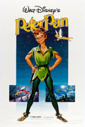 Animation Art:Poster, Peter Pan Promo Poster Group of 2 (Walt Disney, c.1980s).... (Total: 2 Items)