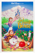 Animation Art:Poster, Beauty and the Beast Two-Sided Theatrical Poster (WaltDisney, 1991)....