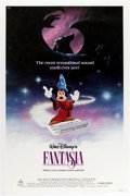 Animation Art:Poster, Fantasia Re-Release Theatrical Poster and Lobby Card Set(Walt Disney, 1985).... (Total: 10 Items)