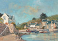 Fine Art - Painting, European, Vincent (French, 20th Century). Dahouët, 2006. Oil oncanvas. 15 x 21-1/4 inches (38.1 x 54.0 cm). Signed lower right:...