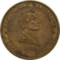 Political:Tokens & Medals, Abraham Lincoln: 1860 Campaign Token....