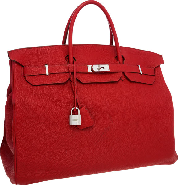 00f0fc46e8b5 ... coupon code for luxury accessoriesbags hermes 50cm rouge garance togo leather  travel birkin bag withpalladium hardware