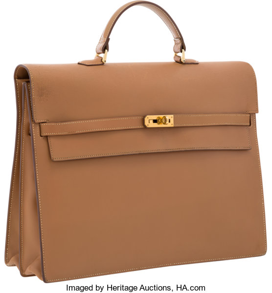 e07bbfb05ca4 ... uk luxury accessoriesbags hermes 38cm natural chamonix leather kelly depeches  briefcase bagwith gold hardware 67a1d 6c1b2
