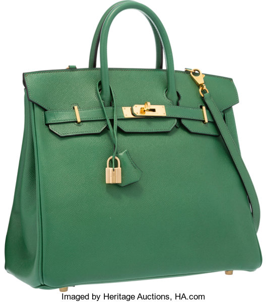 ed4be3a7284a ... usa luxury accessoriesbags hermes 32cm vert bengale courchevel leather  hac birkin bag withgold hardware c130e ef53b
