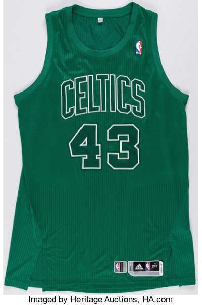 e2c23496eee ... promo code for basketball collectiblesuniforms 2012 kris joseph game  worn boston celtics christmas day jersey.