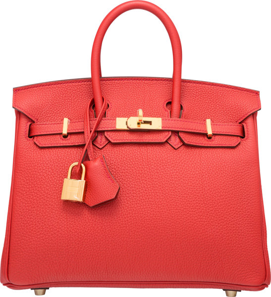5cd611ae7624 ... uk luxury accessoriesbags hermes 25cm geranium togo leather birkin bag  with gold hardware.