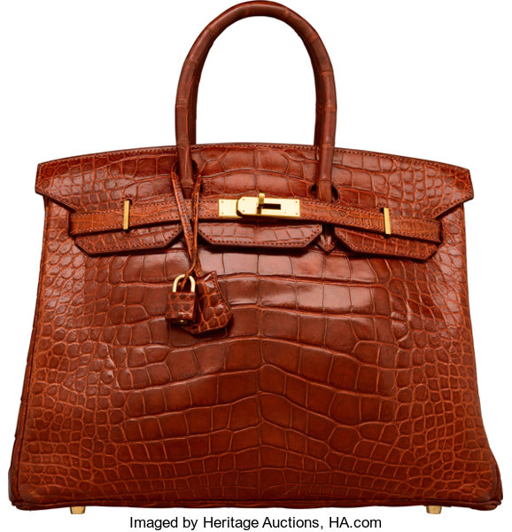 7a6a3deb723 ... low cost luxury accessoriesbags hermes 35cm shiny etrusque alligator  birkin bag with gold hardware.
