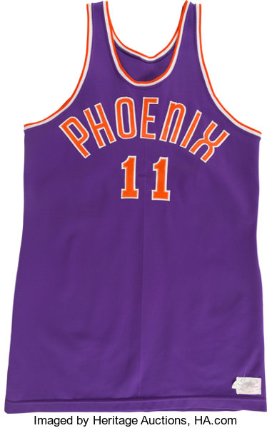 847f82ae3b94 ... official low price basketball collectiblesuniforms 1968 69 neil johnson  game worn phoenix suns jersey. 02fc5