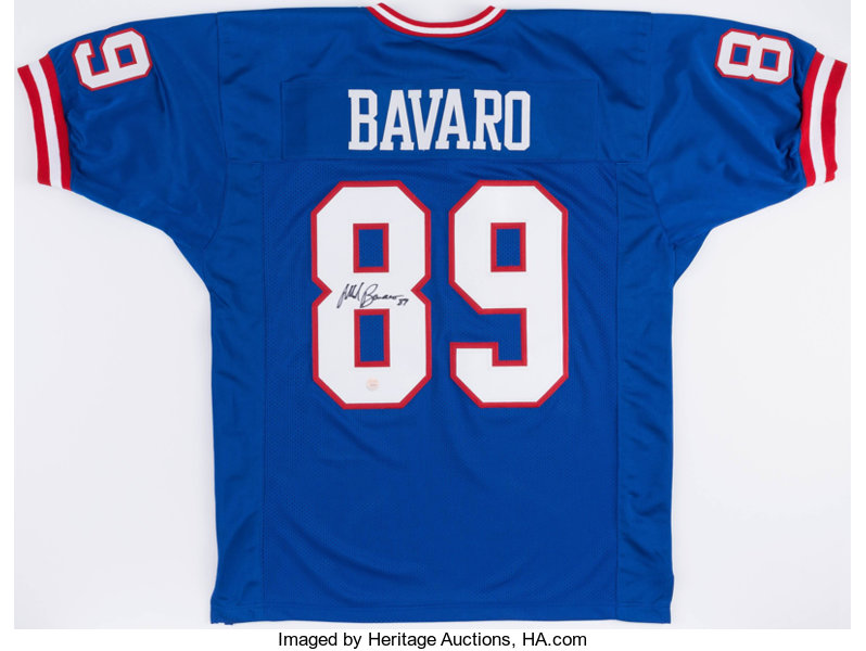17b14287d07 ... france football collectiblesuniforms mark bavaro signed new york giants  jersey. 7ac86 bace0