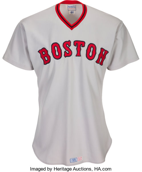buy online 799a5 97228 boston red sox 27 carlton fisk 1975 white throwback jersey