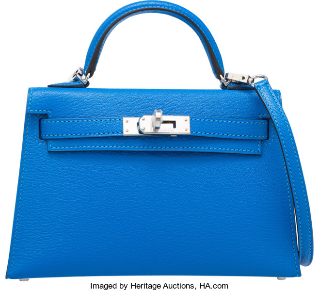 bc17c4f34b9 2007 e5c53 ae730; switzerland luxury accessoriesbags hermes 20cm blue hydra  chevre mysore leather sellier mini kelly bagwith 81bd2 66491