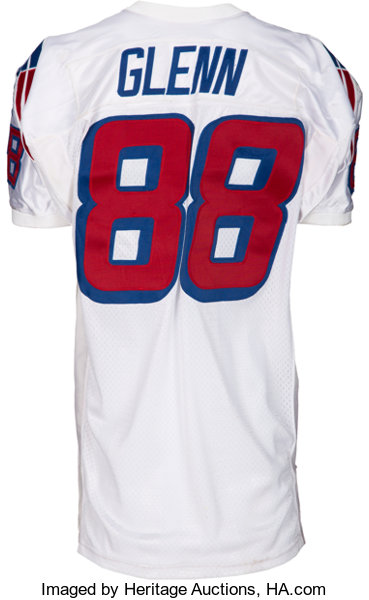 ... discount 1997 terry glenn game worn new england patriots jersey with  lot 51249 heritage auctions 5bbaa dd149f172