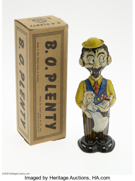 B. O. Plenty Windup Toy with Box (Marx, 1947). Here is B.O. Plenty | Lot  #4204 | Heritage Auctions