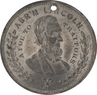 """Abraham Lincoln: """"A Foe to Traitors"""" Token"""