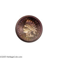 Proof Indian Cents: , 1897 1C PR66 Red and Brown Cameo NGC....