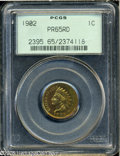 Proof Indian Cents: , 1902 1C PR65 Red PCGS....