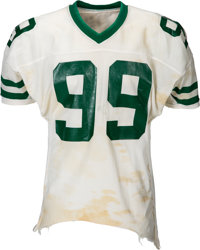 Early 1980's Mark Gastineau Game Worn New York Jets Jersey