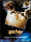 "Movie Posters:Fantasy, Harry Potter and the Sorcerer's Stone (Warner Brothers, 2001)Folded, Very Fine. French Grande (46"" X 62"") Advance. Fantasy...."