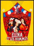 """Movie Posters:Foreign, Paris Does Strange Things (Cinedis, 1956) Folded, Very Fine-. French Moyenne (23"""" X 31.5"""") Rene Peron Artwork. Foreign...."""