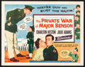 "The Private War of Major Benson (Universal International, 1955) Rolled, Fine. Half Sheets (2) (22"" X 28"") Styl..."