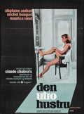 """Movie Posters:Foreign, The Unfaithful Wife (Constantin, 1969). Folded, Very Fine-. Danish Poster (24.25"""" X 33""""). Foreign.. ..."""