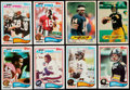 Football Cards:Sets, 1982 Topps Football Complete Set (1) With 1983 Topps Stickers (66). ...