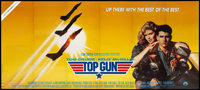 """Top Gun (Paramount, 1986) Folded, Very Fine+. 24 Sheet (Approx. 102"""" X 229.5""""). Action"""