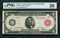 Fr. 836b $5 1914 Red Seal Federal Reserve Note PMG Very Fine 30