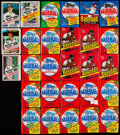 Baseball Cards:Unopened Packs/Display Boxes, 1977-1985 Topps Baseball Unopened Cello & Wax Pack Collection(28)....