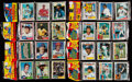 Baseball Cards:Unopened Packs/Display Boxes, 1981-1985 Topps Baseball Rack Pack Collection (8) - 1984 Topps RackPack Has Mattingly Showing on Reverse....