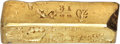 S.S. Central America Gold Bars, Blake & Co. MS Small-Sized Gold Ingot. 14.31 Ounces....